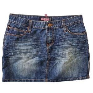 Bubblegum Jean Skirt Size 7/8